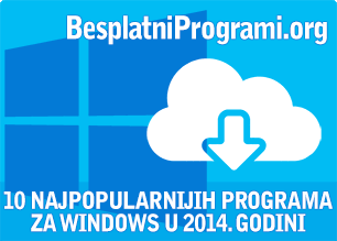 10 najpopularnijih besplatnih programa u 2014. godini