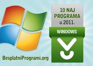 10 najpopularnijih programa u 2011. godini