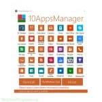 10AppsManager prikaz aplikacije