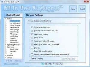 AllInOne Keylogger