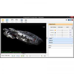 PC Image Editor Prikaz Programa