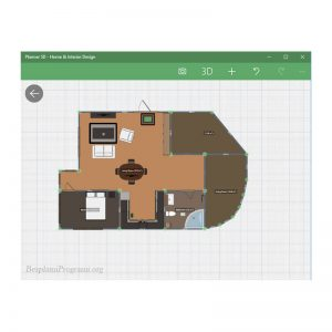 Planner5D Prikaz 2D