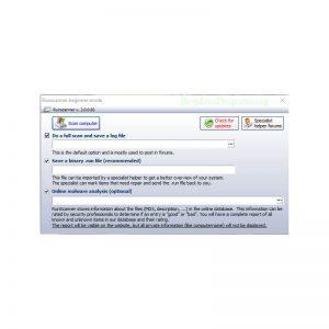 Runscanner Prikaz Glavnog Prozora