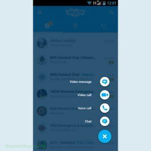 Skype Prikaz Opcija Zvanja