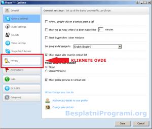 Skype privatnost