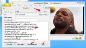 Ucitavanje prevoda u VLC prejeru