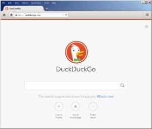 DuckDuckGo Internet pretraživač