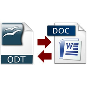 Konvertovanje iz .odt u .doc format